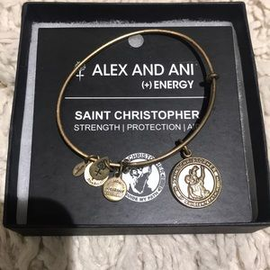 Alex & Ani Saint Christopher bracelet